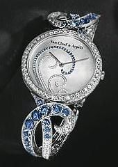 Van Cleef & Arpels High Jewelry Watches Atlantide