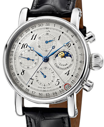 CH-7543L Chronoswiss часы Chronograph Moon Phase