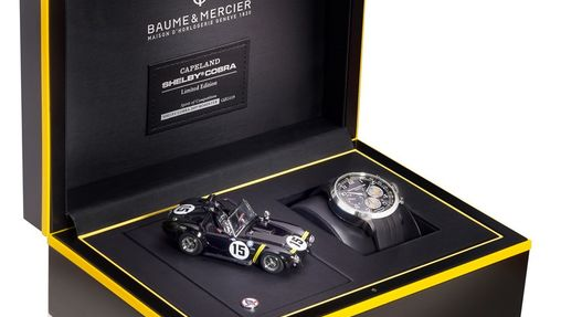 Комплектация на часы Baume & Mercier Capeland Shelby Cobra 1963 Competition